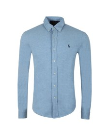 Polo Ralph Lauren Mens Blue Featherweight Mesh Shirt