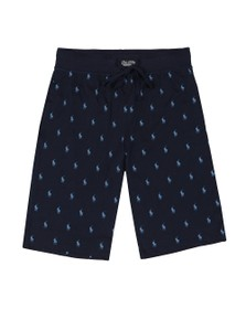 Polo Ralph Lauren Mens Blue Slim Sleep Short
