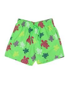 Vilebrequin Mens Grass Green Multicolour Turtle Swim Short