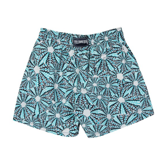 Vilebrequin Mens Blue Oursinade Swim Short
