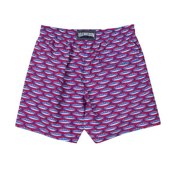Vilebrequin Mens Red Marbella Swim Short