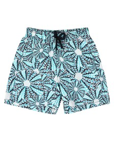 Vilebrequin Boys Blue Oursinade Swim Short