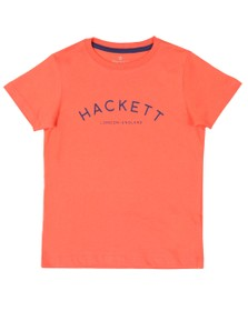 Hackett Boys Orange Mr Class T Shirt