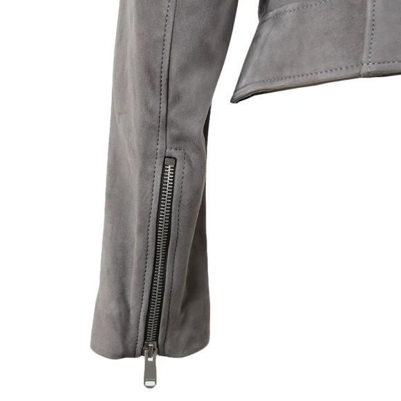 Belstaff Womens Grey Mollison Suede Jacket main image