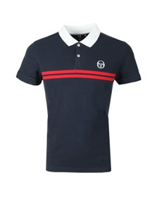 Sergio Tacchini Mens Blue Supermac Polo