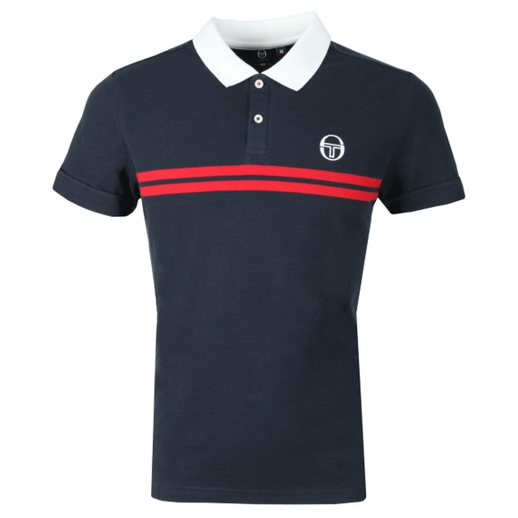 Sergio Tacchini Mens Blue Supermac Polo main image