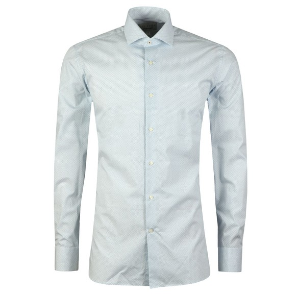 Ted Baker Mens Blue Micro Geo Endurance Shirt main image