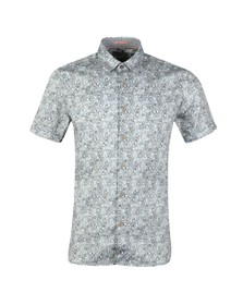 Ted Baker Mens Blue S/S Botanical Shirt