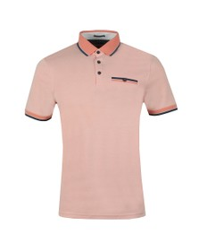Ted Baker Mens Orange HABTAT Soft Touch Polo