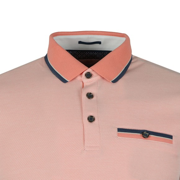 Ted Baker Mens Orange HABTAT Soft Touch Polo main image