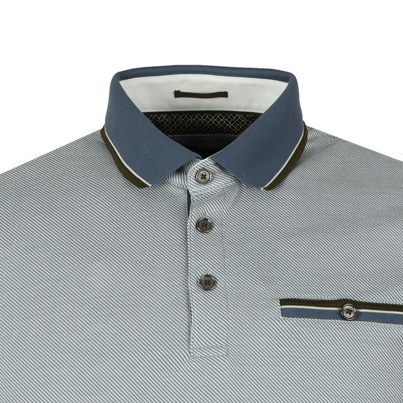 Ted Baker Mens Blue HABTAT Soft Touch Polo main image