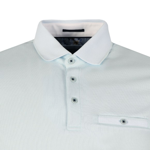 Ted Baker Mens Blue Frog Polynosic Polo main image