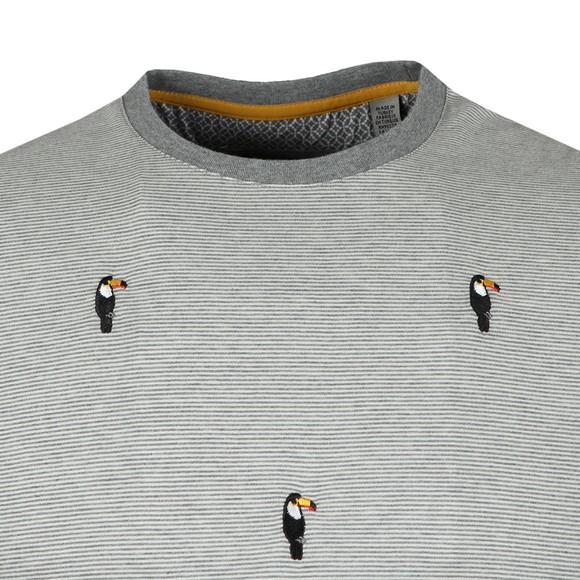 Ted Baker Mens Grey Vipa Embroidery Tee main image