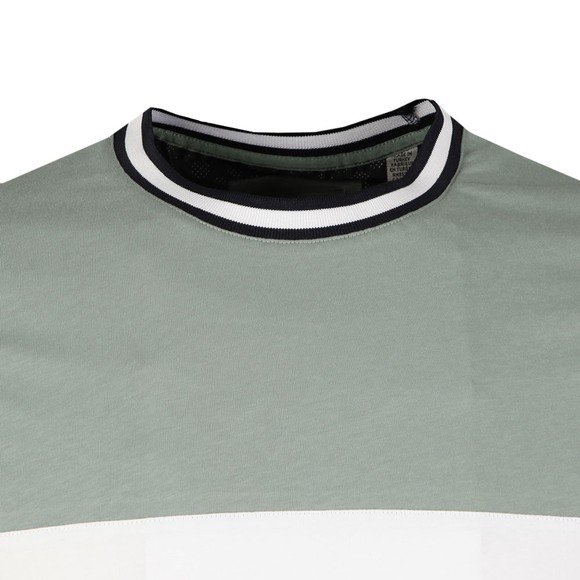 Ted Baker Mens Green Silva Paneled Tee main image