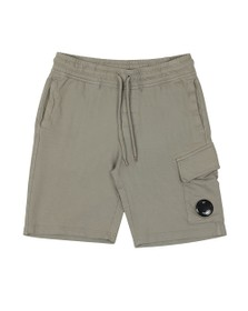 C.P. Company Mens Grey Viewfinder Sweat Short
