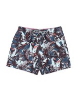 Parrot Print Shorty Swim