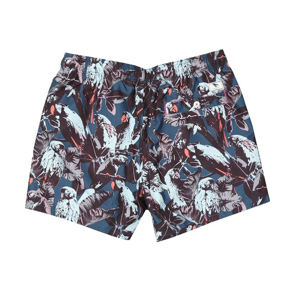Ted Baker Mens Blue Parrot Print Shorty Swim