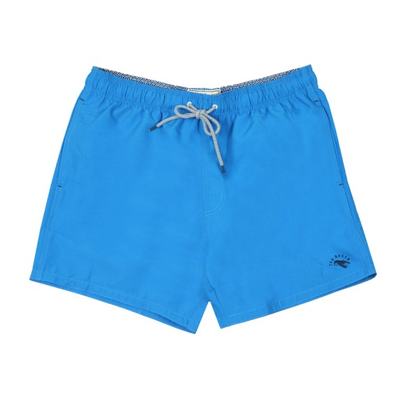 Ted Baker Mens Blue Plain Swim Shorts main image