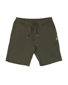 Polo Ralph Lauren Mens Green Double Tech Jersey Short