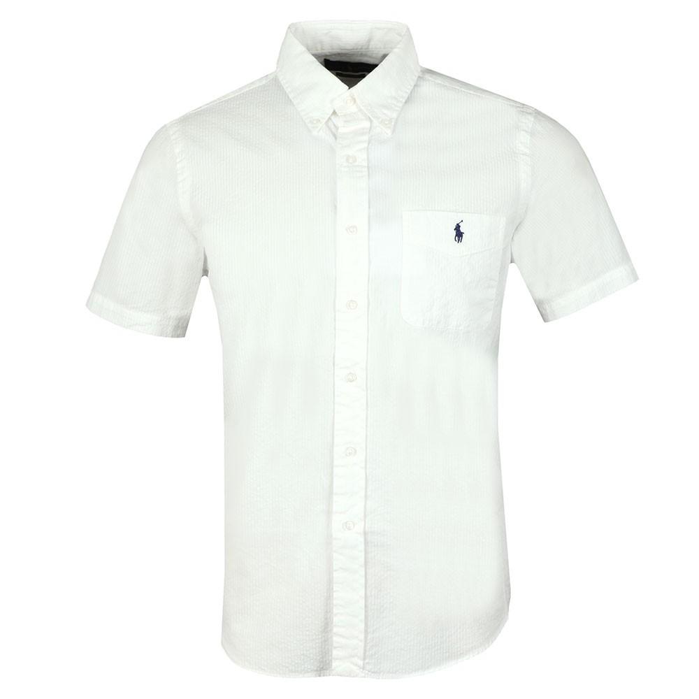 6389a1115 Polo Ralph Lauren Seersucker Short Sleeve Shirt | Oxygen Clothing