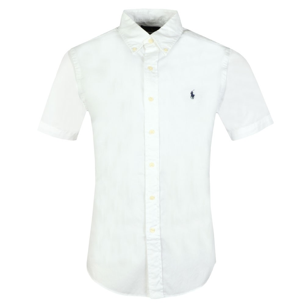 38f65972 Polo Ralph Lauren Slim Fit Featherweight Twill SS Shirt | Oxygen Clothing