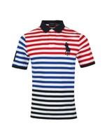 Americana Stripe Polo Shirt