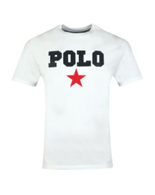 Polo Ralph Lauren Americana Mens White Star T Shirt
