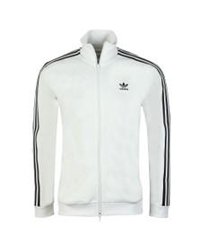 adidas Originals Mens White Beckenbauer Track Jacket