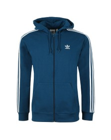 adidas Originals Mens Blue 3 Stripes Hoodie