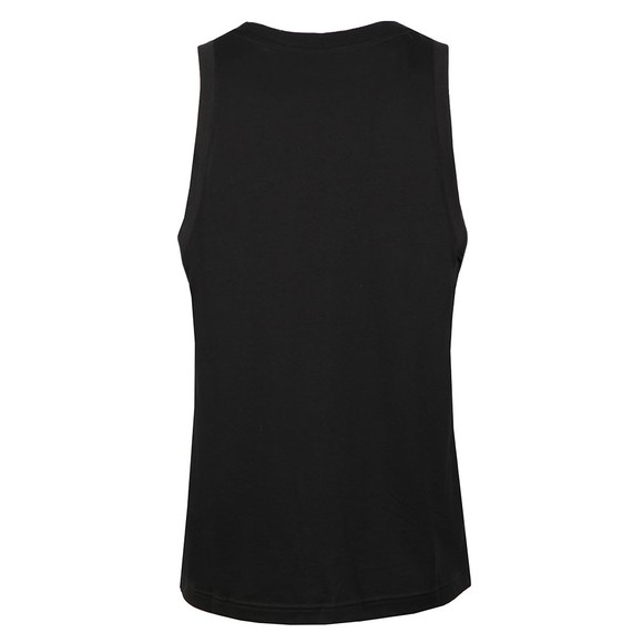 adidas Originals Mens Black Trefoil Tank main image
