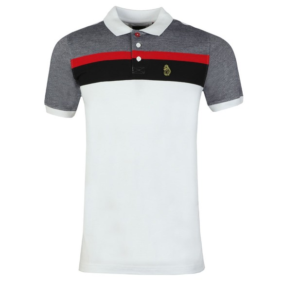 Luke 1977 Mens White Grayson Polo Shirt main image