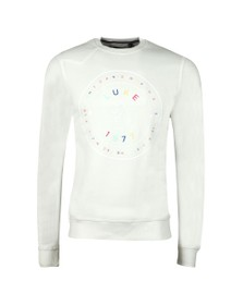 Luke 1977 Mens Off-White Big Day Out Print Detail Sweatshirt