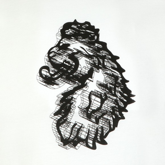 Luke Sport Mens White Tiptronic Graphic T-Shirt main image