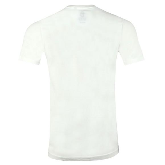 Luke 1977 Mens Off-White Saturday Scoops Printed T-Shirt main image