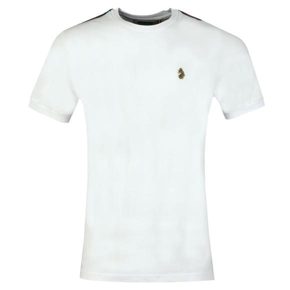 Luke Sport Mens White Iron Vintage Tape T-Shirt main image