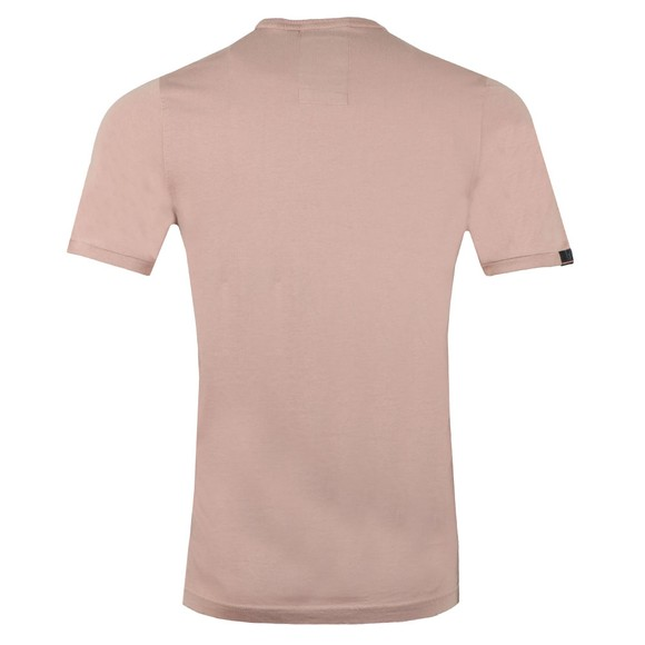 Luke Mens Pink Traff Core Crew T-Shirt main image