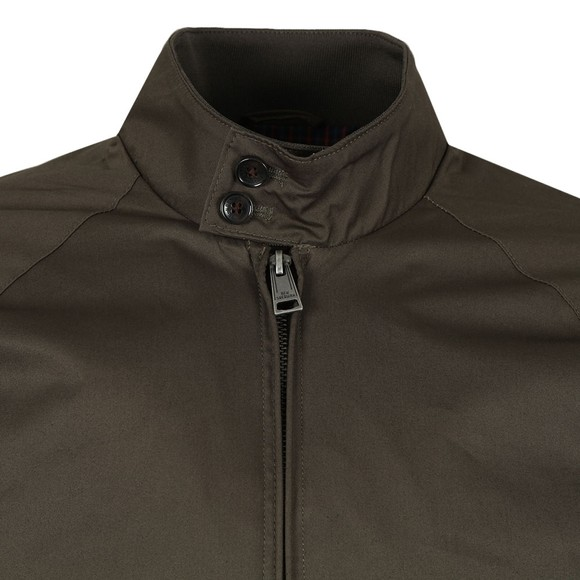 Ben Sherman Mens Green Harrington Jacket main image