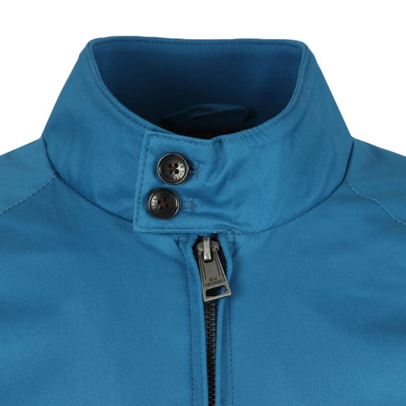 Ben Sherman Mens Blue Harrington Jacket main image