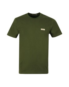 Nudie Jeans Mens Green Daniel Logo T Shirt