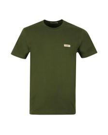 Nudie Jeans Mens Green Daniel Logo T Shirt