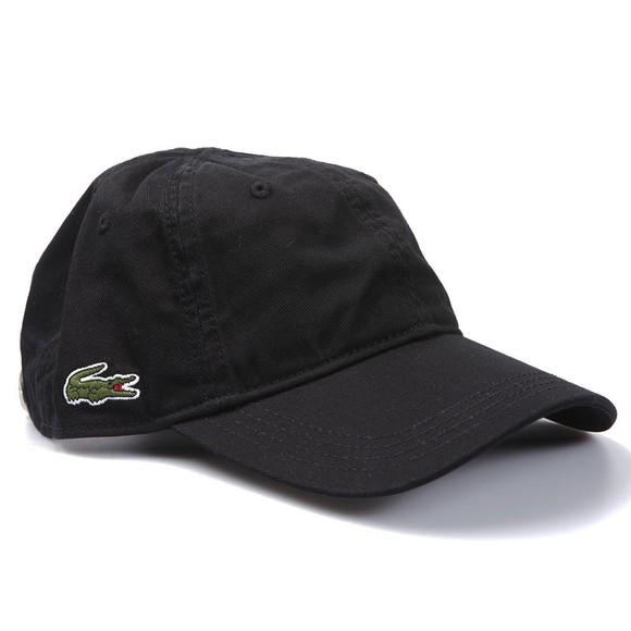 Lacoste Sport Mens Black  RK9811 Logo Cap main image