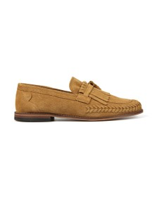 H By Hudson Mens Brown Alloa Suede Loafer