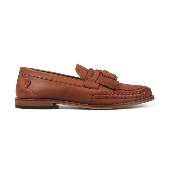H By Hudson Mens Brown Alloa Loafer