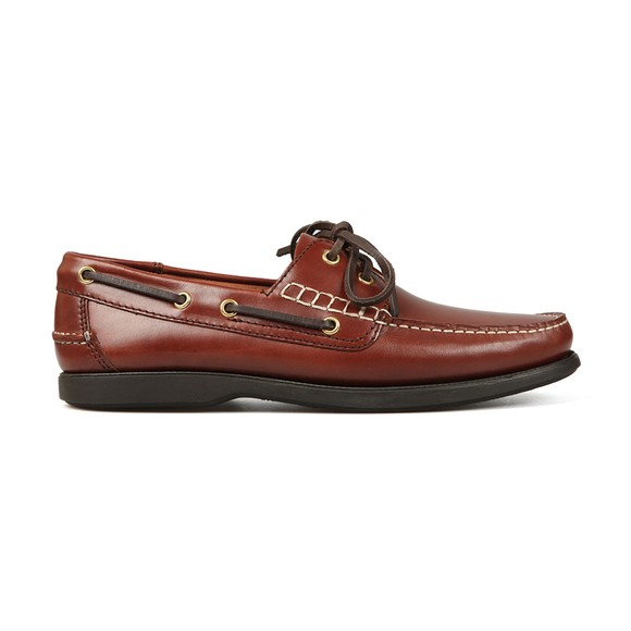 Barker Mens Brown Wallis Boat Shoe