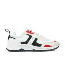 Tommy Hilfiger Mens White Fashion Mix Trainer