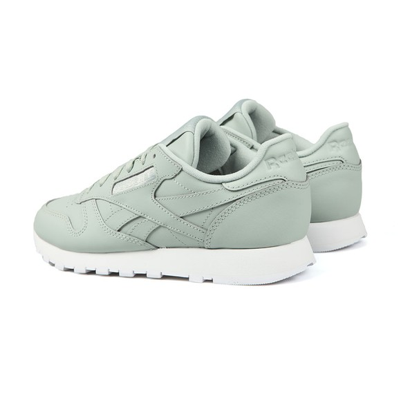Reebok Womens Green Leather Trainer main image