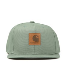 Carhartt Mens Green Logo Cap