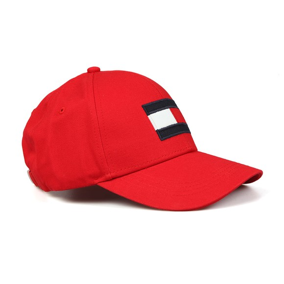 Tommy Hilfiger Mens Red Big Flag Cap main image