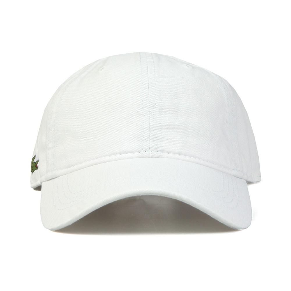 99bff2a283d Lacoste Sport Mens White RK9811 Logo Cap