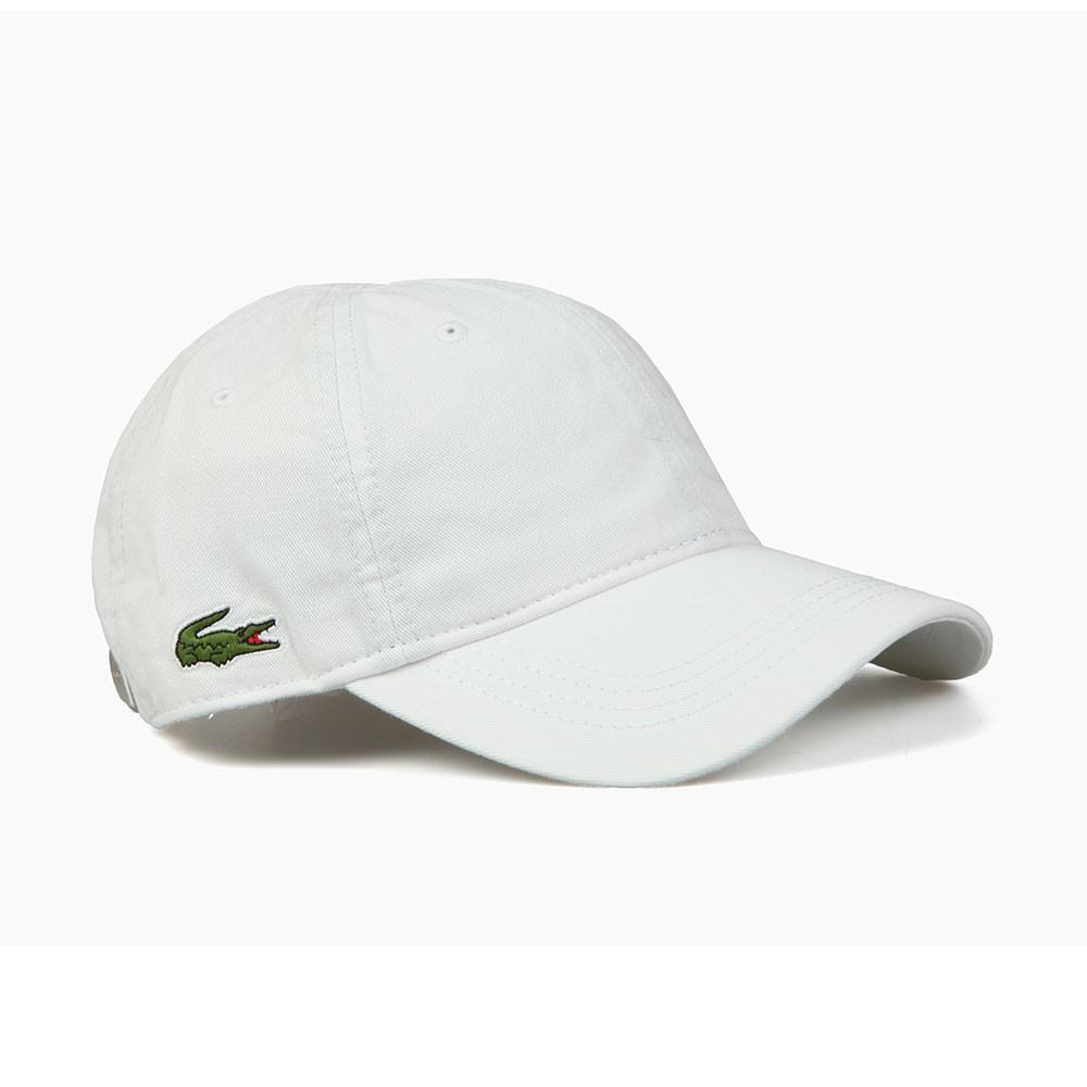 8651a228235 ... Lacoste Sport Mens White RK9811 Logo Cap main image ...